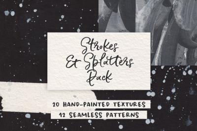 Strokes & Splatters Texture Pack