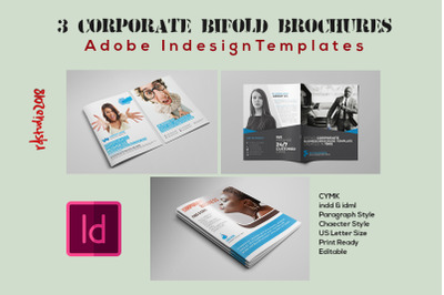 03 Bifold Brochure Indesign Templates