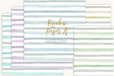Stripes digital paper, stripe background, scrapbook paper pack