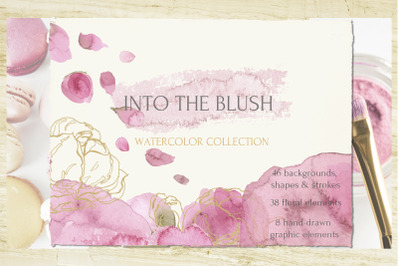 Into The Blush Watercolor Collection