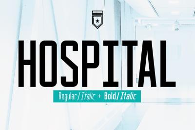 Hospital Typeface