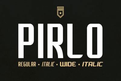 Pirlo Type Family