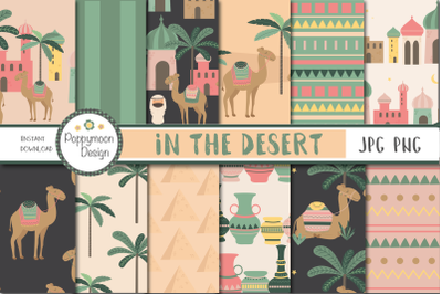 In the Desert-camels paper
