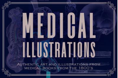 100 Vintage Medical Illustrations