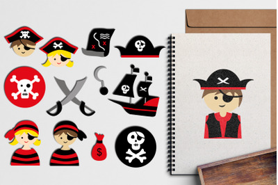 Pirate Illustrations