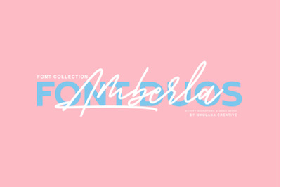 Amberla Script Sans Font