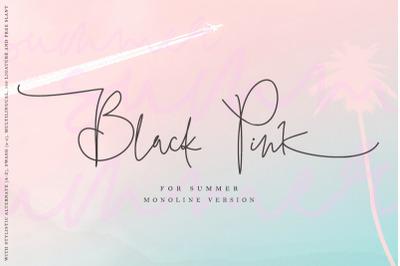 Black Pink Summer