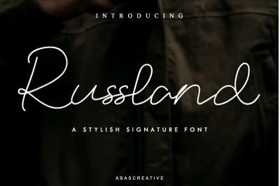 Russland Signature