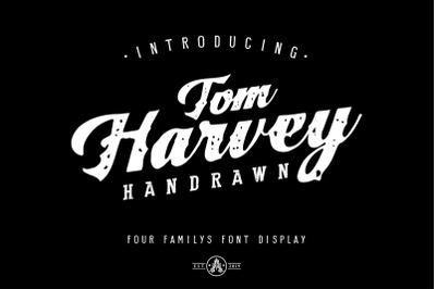 Tom Harvey Quartet Display Font