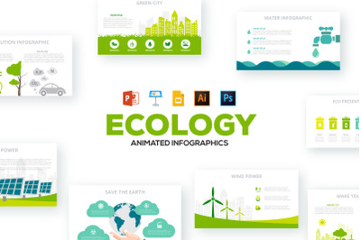 Ecology animated infographics