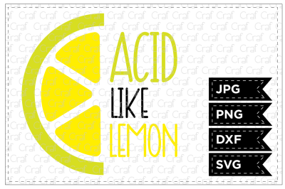 Acid Like Lemon