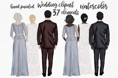 Wedding clipart wedding dress Mother of the Bride clipart