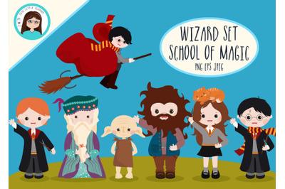 Wizard set