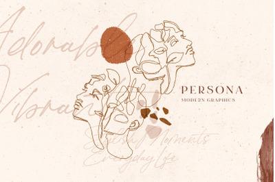 Persona. Soulful Modern Art.