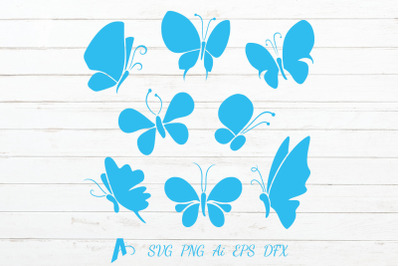 Butterfly Vector Icons-Butterflies Illustration.
