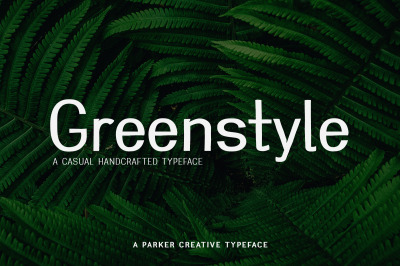 Greenstyle Casual Humanist Font
