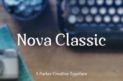 Nova Classic Stylish Font