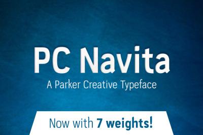 PC Navita Geometric Font