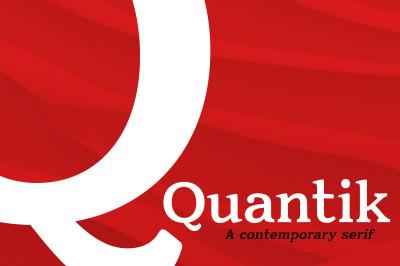 Quantik Contemporary Serif Font