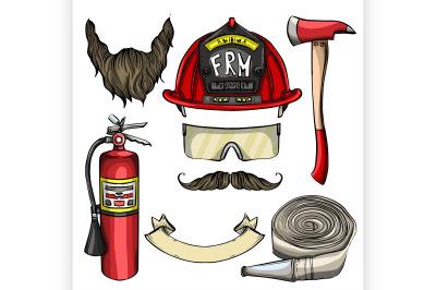 Sketch fireman attributes