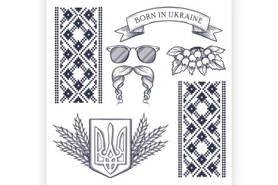 Ukrainian national distinguishing attributes