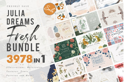 3978 in 1 - GRAPHIC FRESH BUNDLE