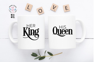 Her King His Queen Cut File