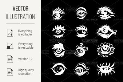 Eyes Icons