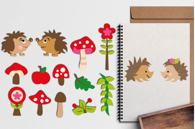 Hedgehog Life Illustrations