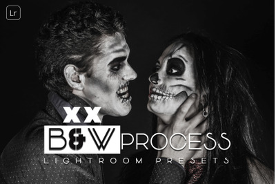 Black and White Process Lightroom Presets