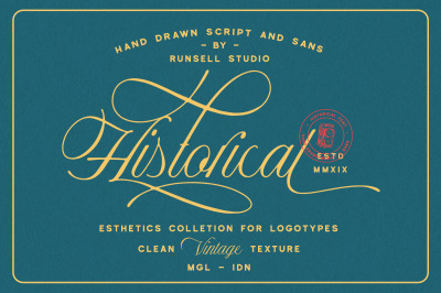 Historical - Handdrawn Font