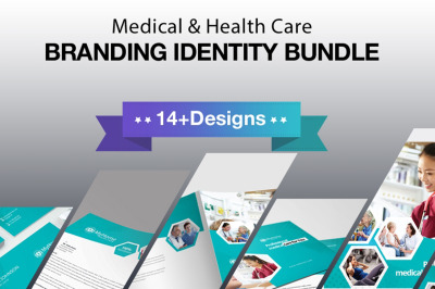 Medical And Health Care Branding Identity