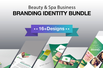 Beauty and Spa Business Branding Identity