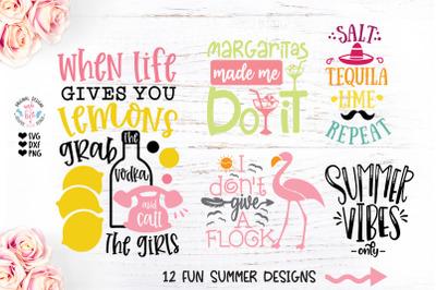 Summer Fun Cut File Bundle