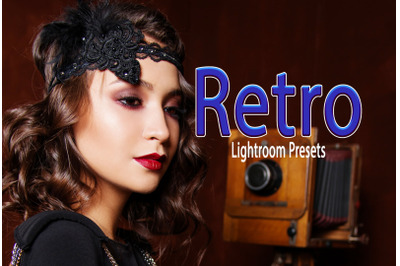 Retro Instagram Blogger Lightroom Presets