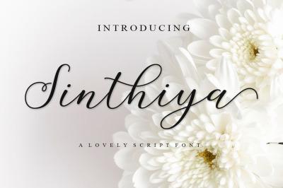 Sinthiya Script