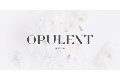 Opulent - New Modern Serif