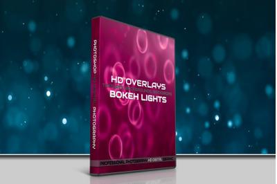 200 HIGH QUALITY BOKEH Light, Digital Photoshop Overlays