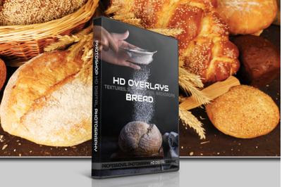 200 HIGH QUALITY BREAD, Baked Food, Digital Photoshop Overlays