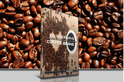 200 HIGH QUALITY COFFEE And Beans Digital Photoshop Overlays