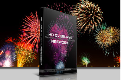 200 HIGH QUALITY FIREWORK, Fire, Digital Photoshop Overlays,