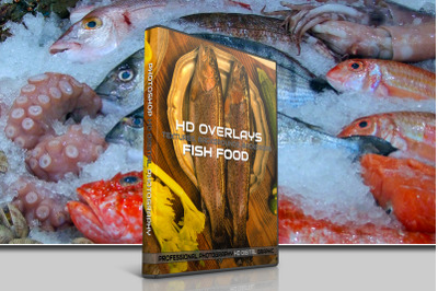 200 HIGH QUALITY FISH Sea Food, Digital Photoshop Overlays