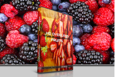 200 HIGH QUALITY FRUIT, Basket, Food, Digital Photoshop Overlays