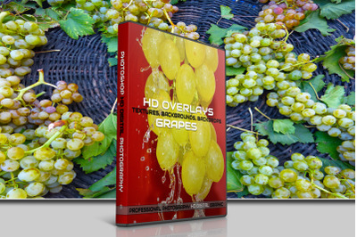 200 HIGH QUALITY GRAPES, Nature Fruit Digital Photoshop Overlays