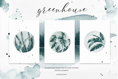 Greenhouse poster collection