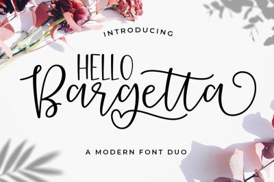 Bargetta Font Duo