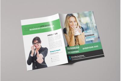 Bifold Corporate Brochure Template