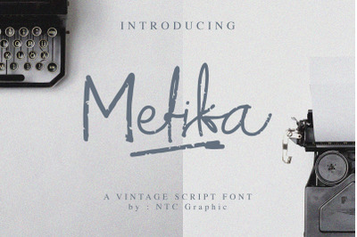 Mefika Vintage Script Font