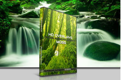 200 HIGH QUALITY MOSS, Tree, Stone, Digital Photoshop Overlays