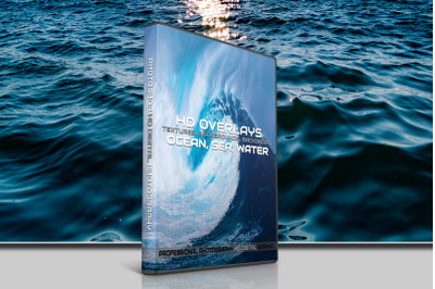 200 HIGH QUALITY OCEAN Sea Waves, Digital Photoshop Overlays